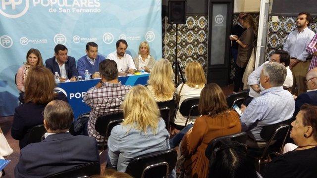 Reunión del Comité Ejecutivo Provincial del PP de Cádiz