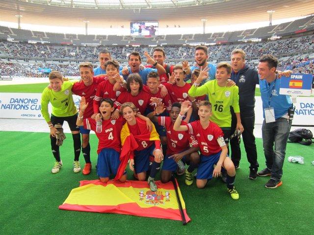 España bronce Sevilla Danone Nations Cup París