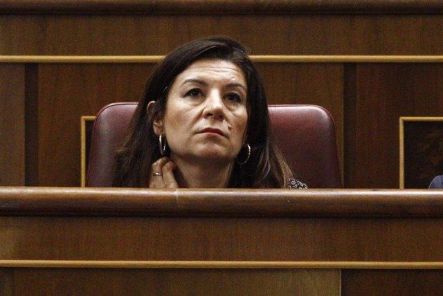 Carmen Rodríguez Maniega, en el Congreso
