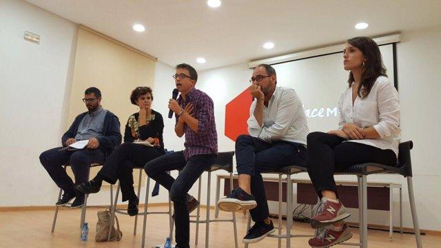 El secretario político de Podemos, Íñigo Errejón