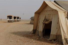 Tres muertos en un atentado suicida en un campamento de refugiados en la frontera entre Siria y Jordania