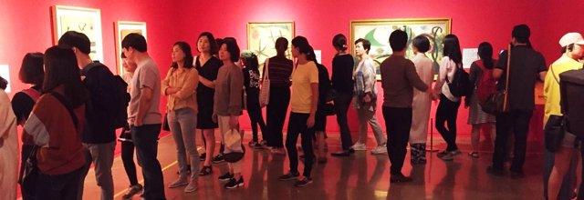 Primera exposición individual de Miró en Corea