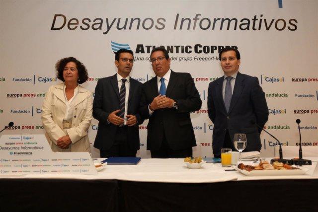 Desayuno informativo de Europa Press al alcalde de Granada