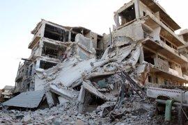 Mueren 14 miembros de una misma familia por un ataque aéreo en Alepo