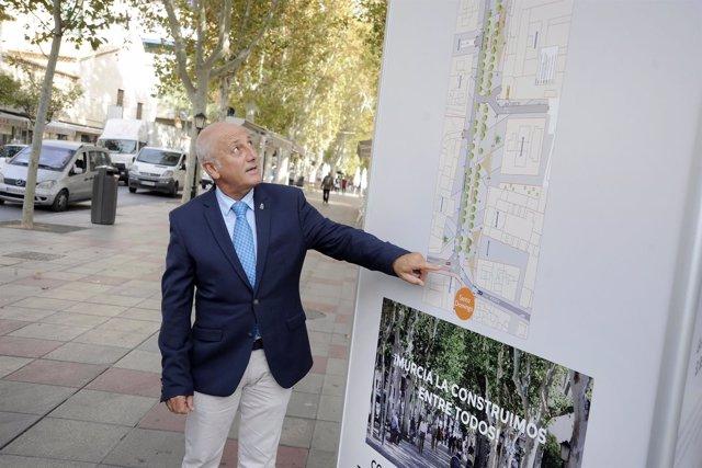 Roque Ortiz, presenta los puestos del proyecto de Alfonso X