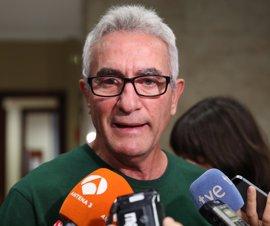 """Cañamero defiende el debate en Podemos y dice que él es """"de la corriente de la sociedad"""""""