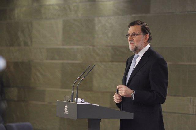 Rajoy en Moncloa