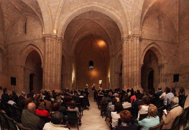 Concierto de cierre del ciclo 'MusaE, las piedras cantan', en Abadía Retuerta