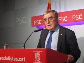 """El presidente del PSC ve """"imposible"""" una ruptura con el PSOE"""