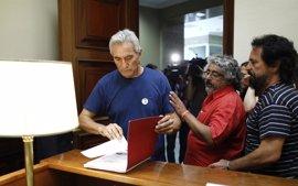 """Cañamero anuncia que también será """"insumiso judicial"""" ante el Supremo"""