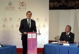"""Rajoy llama a trabajar """"todos juntos"""" por los """"grandes objetivos nacionales"""""""