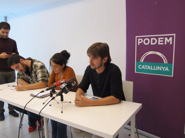 Joan Giner,  Ruth Moreta y Andreu Escobar
