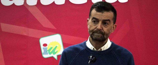 Nota, Foto Y Vídeo IU // Maíllo Anuncia Concentración Alcaldías IU Ante San Telm