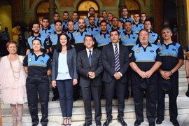 Más de una veintena de policías locales empiezan sus prácticas en Santa Cruz de Tenerife