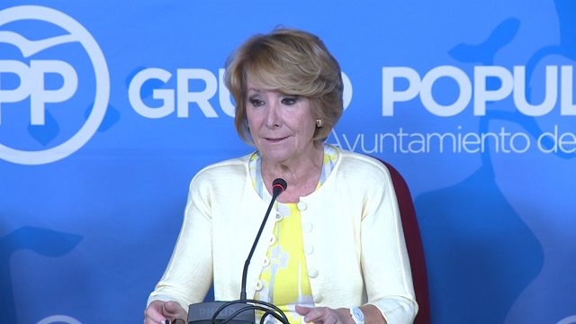 Aguirre critica a Carmena por no estar en el desfile del 12 de octubre