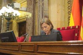 """Forcadell replica a la Fiscalía: """"En el Parlament se tiene que poder hablar de todo"""""""