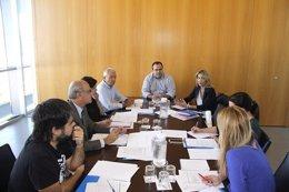 Reunión de la comisión  de la Oficina de Intermediacióm Hipotecaria.