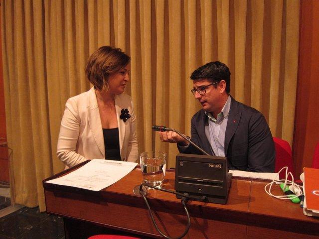 Isabel Ambrosio y Pedro García
