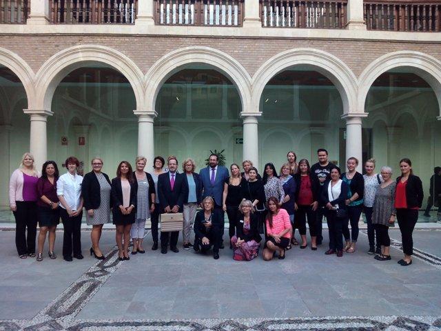 Nota Y Fotos Autoridades Suecas Se Interesan En Granada Por El Modelo Andaluz De