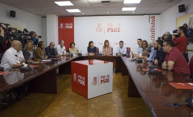 Reunión de la Ejecutiva del PSE-EE