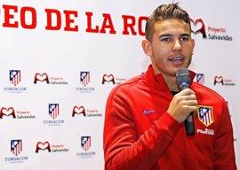"Lucas Hernández: ""Estamos acostumbrados a un viaje tan largo"""