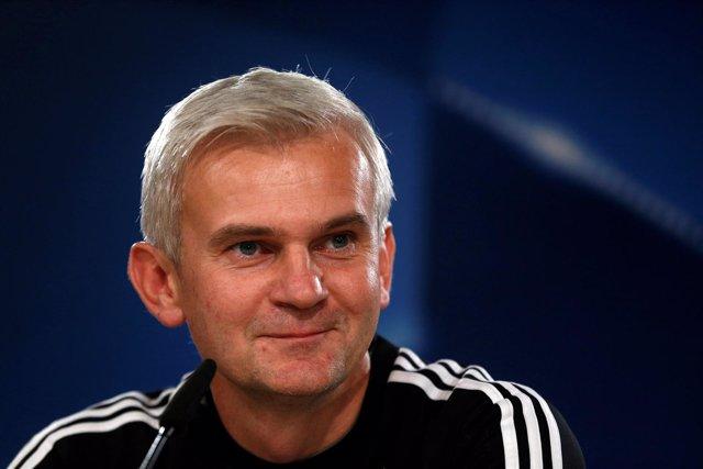 El Entrenador Del Legia De Varsovia, Jacek Magiera