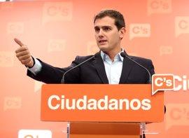 Ciudadanos pide poner en marcha la reforma de la Ley Electoral que comprometió con el PP