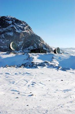 Radares militares estadounidenses en Groenlandia