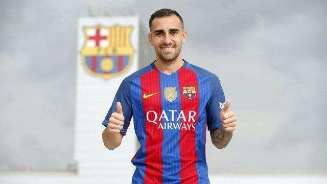 Paco Alcácer, nuevo jugador del FC Barcelona