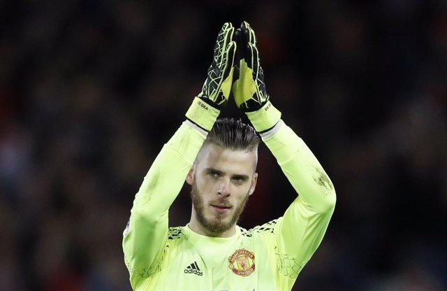 El portero del Manchester United David de Gea