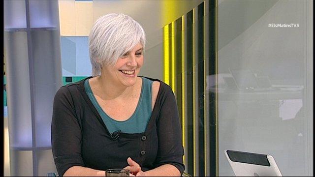 La alcaldesa de Badalona (Barcelona), Dolors Sabater