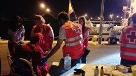Los once inmigrantes rescatados frente a la costa de Murcia aseguran ser libios