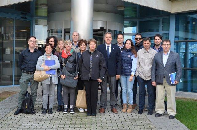 Clausura de un curso de internacionalización de la Cámara de Comercio de Tortosa