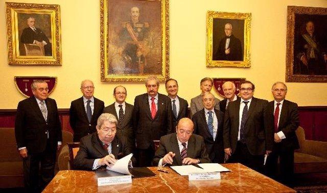 La Real Academia Nacional de Medicina y Centro de Patología de la Mama-Fundación