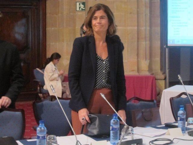 La  Secretaria de Estado de Justicia, Carmen Sánchez-Cortes, en Oviedo.