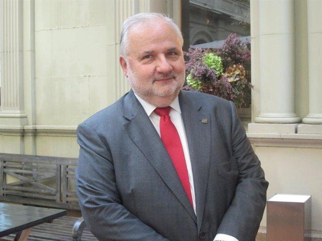 El rector de la UOC Josep A.Planell