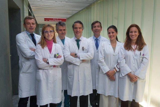 Equipo de la Clínica Universidad de Navarra