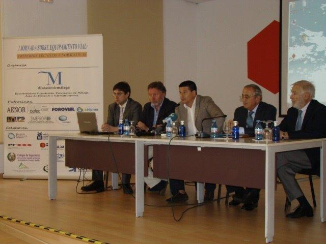 Jornadas sobre equipamiento vial en Málaga