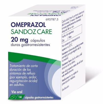 Sandoz lanza el primer omeprazol sin receta en España