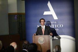 """Aznar: """"Lleva algún tiempo poner a cada uno en su sitio"""""""
