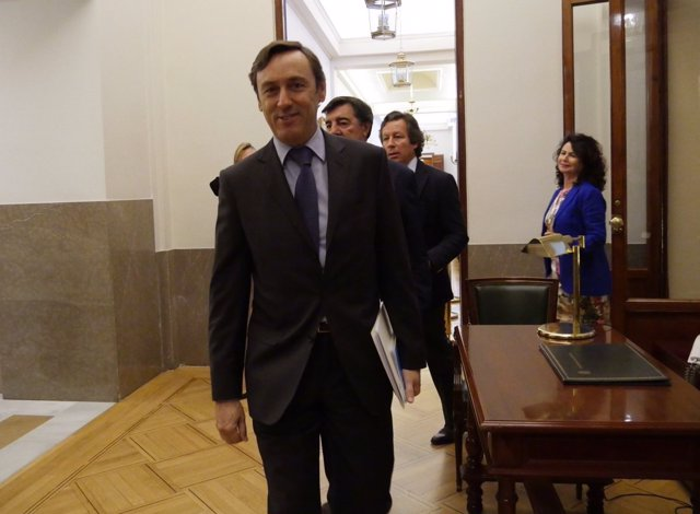 Rafael Hernando y José Antonio Bermúdez de Castro, del PP