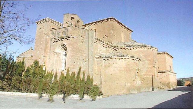 El Real Monasterio de Santa María de Sijena en Villanueva de Sijena (Huesca)