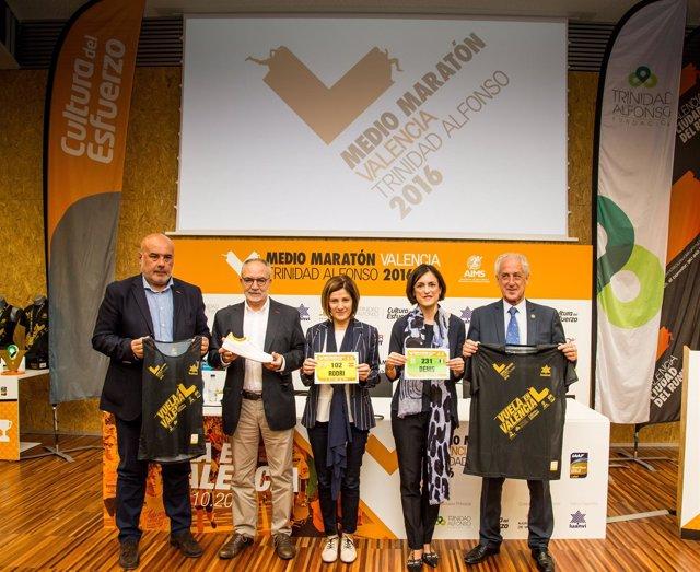 Presentación del Medio Maratón de Valencia