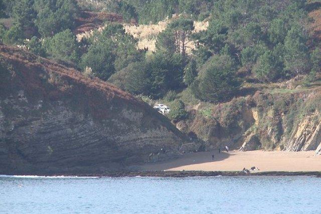 Playa de Barrika cerrada para rodaje