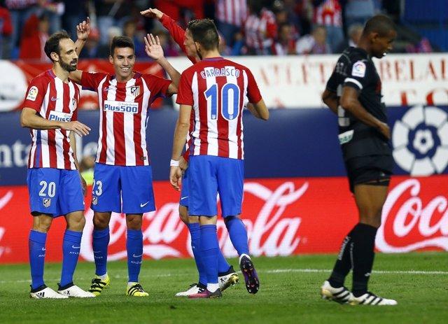 Primer gol de Gaitán. Atlético de Madrid contra Granada