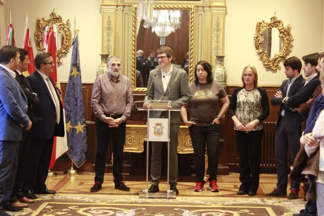 Visita de la federación madrileña de municipios a vitoria