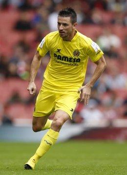 El jugador del Villarreal Antonio Rukavina