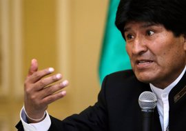 """Morales cree que Chile """"puso barreras"""" a que Bolivia presidiera la CELAC"""