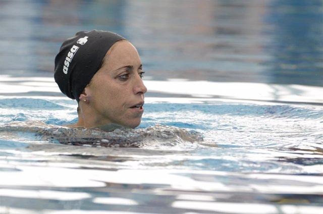 Gemma Mengual, natación sincronizada