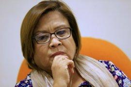 Un comité filipino vota en contra de imputar por narcotráfico contra la senadora De Lima
